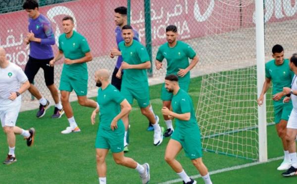 Intense programme de préparation pour le Onze national avant le test contre le Ghana