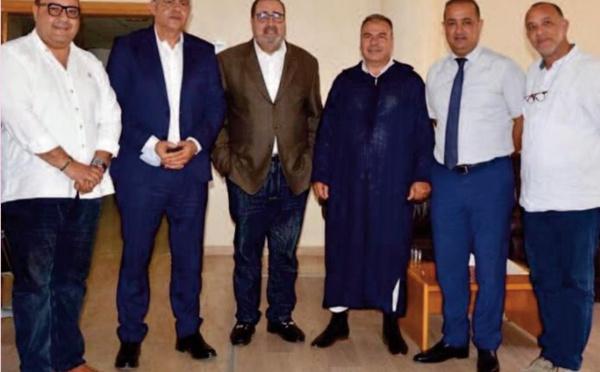 Le Premier secrétaire de l'USFP reçoit Zakaria Semlali