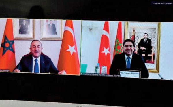 La Turquie loue le leadership de S.M le Roi Mohammed VI