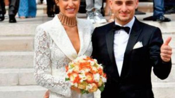 Marco Verratti convole en justes noces avec Jessica Aidi