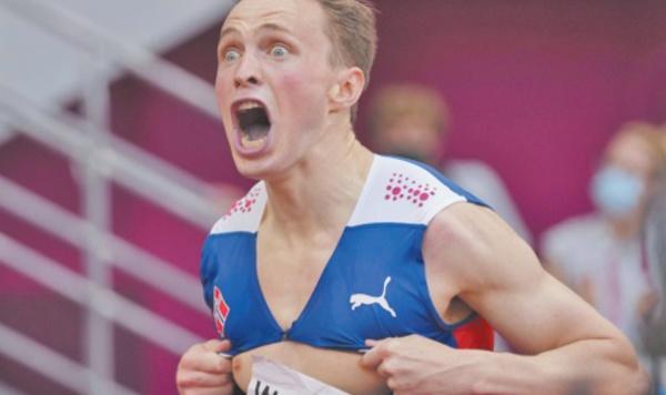 KarstenWarholm, le guerrier du 400 m haies