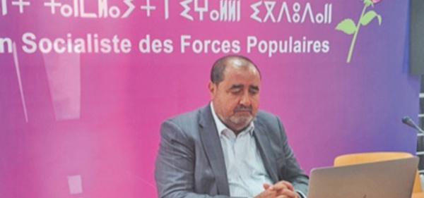 Participation du Premier secrétaire de l'USFP à la réunion d'urgence du Conseil des secrétaires de la Fondation Yasser Arafat