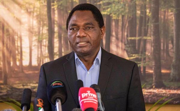 Hakainde Hichilema, opposant historique, prend les rênes de la Zambie