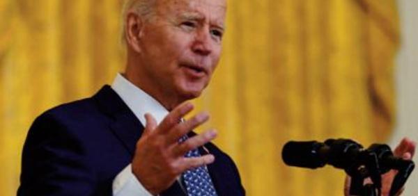 """Le président des Etats-Unis dénonce une """" minorité"""" d'Américains qui empêche de """"tourner la page """" du Covid-19"""