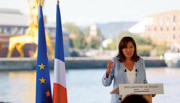 Anne Hidalgo, la maire socialiste de Paris qui vise l'Elysée