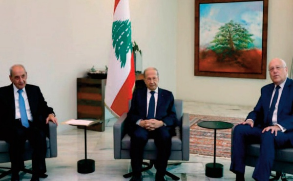Première réunion du nouveau gouvernement libanais