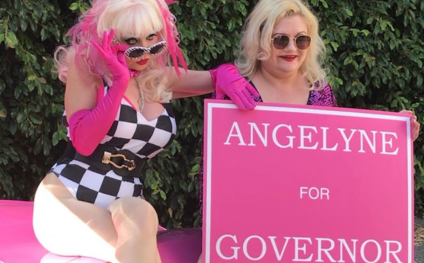 Angelyne, l'éternelle starlette qui rêve de devenir gouverneure de Californie