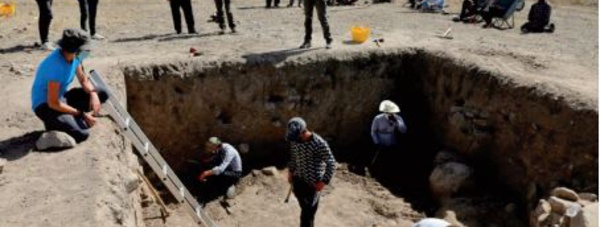 """""""L'ancêtre """" des mosaïques méditerranéennes découvert en Turquie"""