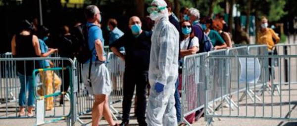 Plus de 50.000 cas de Covid supplémentaires au Royaume-Uni, une première depuis juillet