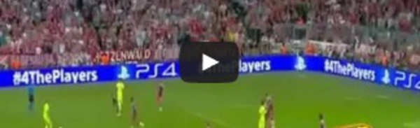 Mehdi Benatia Goal - Bayern Munich 3-2 Barcelona [Champion League] 2015
