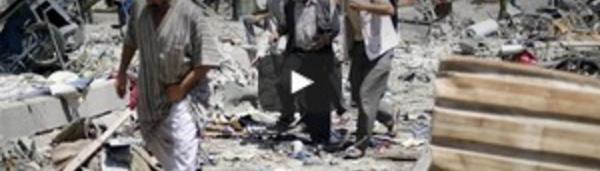 """Raid meurtrier du régime syrien près de Damas, l'opposition évoque un """"massacre"""""""