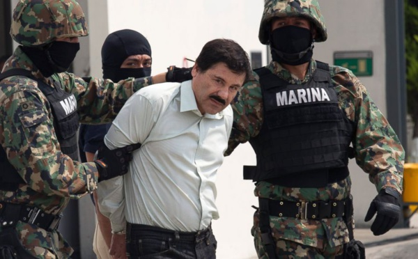 """Portrait: """"El Chapo"""" Le roi des narcotrafiquants qui rêvait de gloire"""