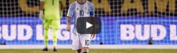 Messi prend sa retraite internationale