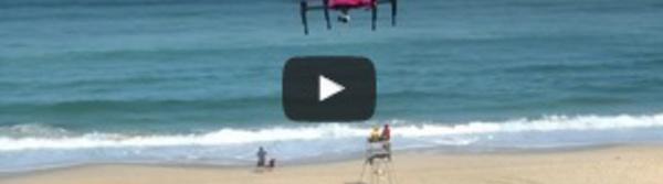 Des drones pour assister les sauveteurs sur les plages