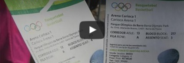 Rio : revente de tickets et fiesta