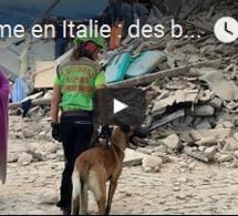 Séisme en Italie : des bâtiments effondrés