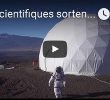 Six scientifiques sortent à Hawaï de six mois d'isolement martien