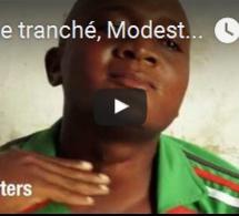 Gorge tranché, Modeste accuse un militaire congolais se faisant passer pour un ADF de crimes