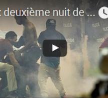 USA : deuxième nuit de protestations à Charlotte, l'état d'urgence déclaré