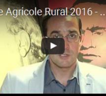 Pacte Agricole Rural 2016 - 2021 de l'USFP pour le MAROC