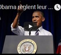 Les Obama règlent leur compte avec Donald Trump