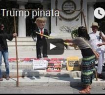 Frappez un pinata Trump