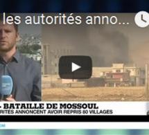 Irak : les autorités annoncent la reprise de 80 villages autour de Mossoul