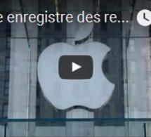 Apple enregistre des revenus en baisse pour la première fois en quinze ans
