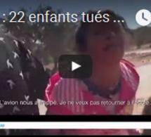 Syrie : 22 enfants tués dans le bombardement d'une école par les avions russes et syriens