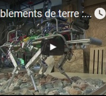 Tremblements de terre : des robots chiens à l'étude