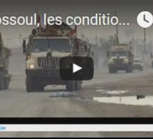 A Mossoul, les conditions météorologiques freinent l'avancée des forces armées