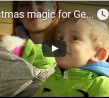 Magie de Noël pour les enfants allemands