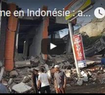 Séisme en Indonésie : au moins 97 morts, le bilan risque de s'alourdir