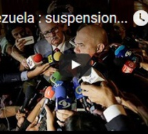 Venezuela : suspension du dialogue politique
