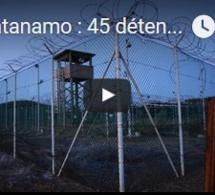 Guantanamo : 45 détenus à la fin du mandat d'Obama