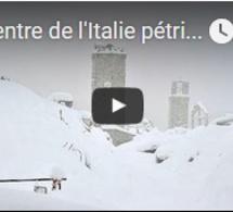 Le centre de l'Italie pétrifié au lendemain d'une série de nouveaux séismes et de fortes chutes…