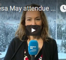Theresa May attendue à Davos ce jeudi