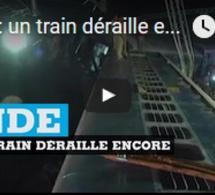 Inde : un train déraille encore