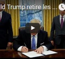 Donald Trump retire les Etats-Unis du traité de libre-échange transpacifique