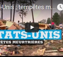Etats-Unis : tempêtes meurtrières dans le sud du pays