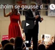 Stockholm se gausse de l'attentat imaginé par Trump en Suède