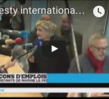 Amnesty international pointe du doigt la France en matière de droits humains