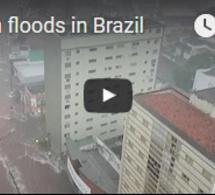 Inondations soudaines au Brésil
