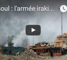 """Mossoul : l'armée irakienne se rapproche de """"la mosquée de l'EI"""""""