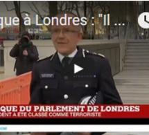 """Attaque à Londres : """"Il y a un seul attaquant en ce moment"""", déclare la police britannique"""