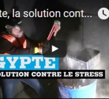 Égypte, la solution contre le stress