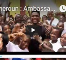 Cameroun : Ambassadeur de l'UNICEF, Samuel Eto'o est de retour au pays !