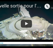 Nouvelle sortie pour l'astronaute Thomas Pesquet... qui marche dans l'espace !