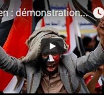 Yemen : démonstration de force des rebelles contre la coalition militaire menée par l'Arabie…