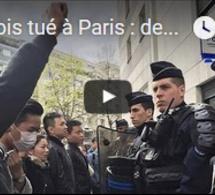 Chinois tué à Paris : des manifestants dénoncent une bavure